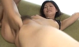 Ryo Sasaki acquires pleasure from a grown fake penis