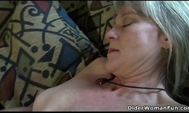 American milf Lucky has plenty be advisable for fun with a peppery marital-device