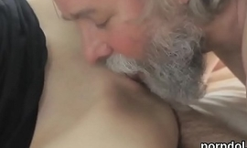 Lovable college girl gets seduced and poked by her senior lecturer