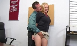 Innocenthigh tracy sweet light-complexioned teacher sweeping teen hardcore prof carnal knowledge