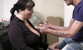 Busty working wholesale it distance from behind