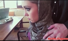 Arabic babe missionary fucked in pov