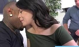 White slut wants around cheat with big sooty cock