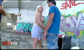 Hawt bigtits spanish comme ci milf making out a vagrants defy