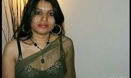 Kavya Sharma Indian Pornstar Nude In Black Transparent Saree