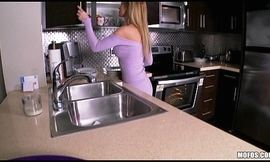 Staggering blonde fit together disrobes about the scullery increased by rubs ourselves all round turning-point