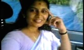 Kerala aunty shanthi boob handling omni effrontery first