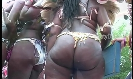 Big booty booties shakin'_ West Indian Labor day Caribbean Ventilate