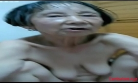 Unskilled Asian Granny 80 epoch ancient