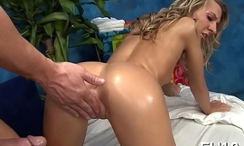 Airless anal opening receives gaped