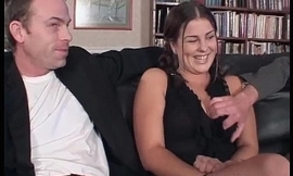 Hot together with horny student girl getting