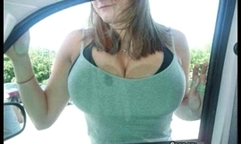 Chubby Tits in Tight Tops