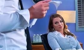Office Sex With Sluty Big Juggs Teen Girl (Juelz Ventura) vid-13