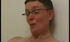 Stolen video of my slut mom masturbating