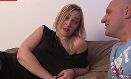 French amateur milf gets straws full be fitting of cum