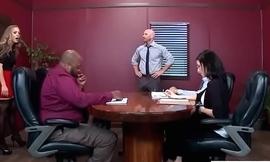 Office Sluty Girl (Nicole Aniston) With Big Round Boobs Banged Hard video-21