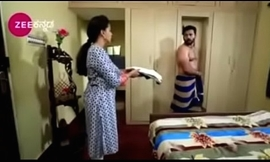 South Indian TV actor caught nude up underwear up a TV show
