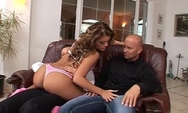 Favoured DP Guy Cums an Amazing 3 times and Keeps on Shagging Her