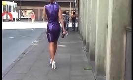 Hot Milf in Heels Latex Stockings. See part2 at goddessheelsonline.co.uk