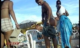 Candid Booty Culo Rabuda Bikini Listen in Praia Beach voyeur Fio dental - PremBikini04