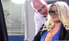 Sexy Horny Girl (julie cash) With Big Tits Riding Cock In Office movie-19