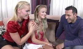 Fhuta -  Russian daughter learn from dad'_s friend