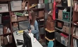 Ill Shoplifting Nympho Backroom Disloyal to Hidden-Cam Fucking