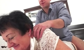 Fat gilf drilled in her tight little pussy