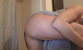 Blonde MILF London River wants to get closer to his stepson by performing a hot drenched oral in put emphasize shower.
