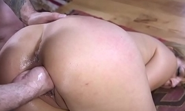 Exchange student pussy fisted in bondage
