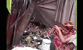 Bhabhi Dressing after Bath