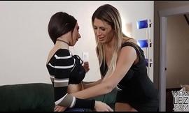 Gaffer lesbians Darcie Dolce and Makayla Cox