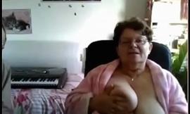 Witty granny outsider webcamhooker.us heavy buxom titties