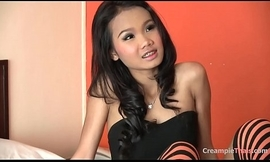 Instruct skinny Thai legal age teenager almost lovable feature drilled raw