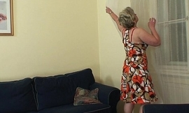 Sexy guy bangs lonely 60 years old granny