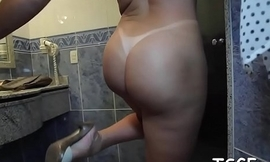 Oversexed shelady gets creampied after a hardcore ride