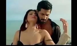 Hot girl in black bra from Bollywood
