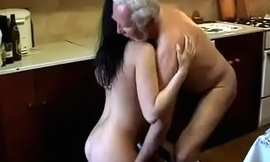 Granddaughter receives imitation by say no to grandpa