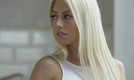 Sexy french blonde jessy volt enjoys a hot dealings