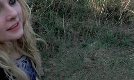 Horny girl Sophie Keagan is sucking blarney