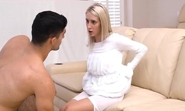 Mormon Teen Cadence Lux Blackmails Brother Rey For Sexual Favors