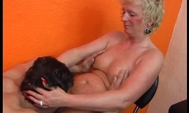 Amateur mom homemade personify with her husband