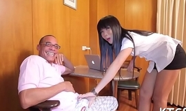Lady-boy with hard dick takes in ass