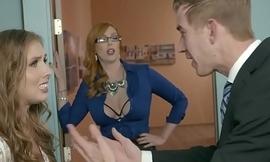 Brazzers - Big Tits at Work -  The Extremist Girl Part 3 scene starring Lauren Phillips, Lena Paul and Dan