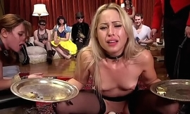 Halloween costume ball anal orgy fucking